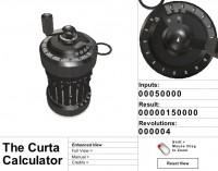 Curta Calculator Simulator