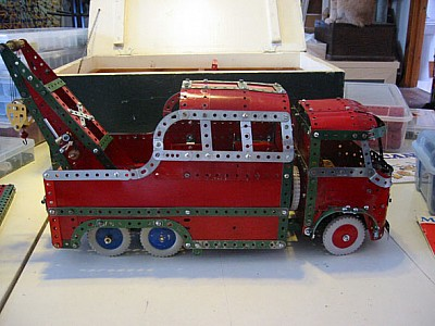 Meccano Break Down Truck