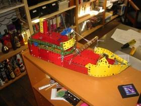 Meccano Coasting Steamer