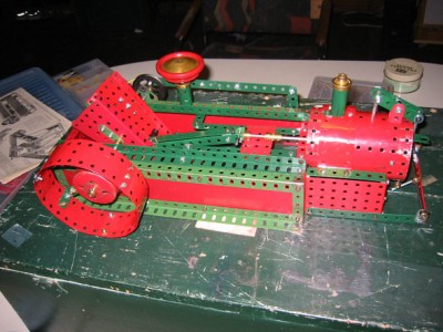 Meccano Gas Engine