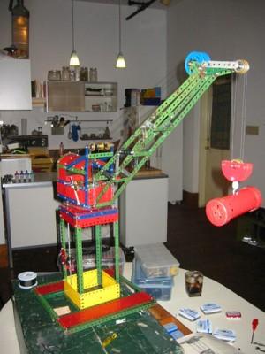 Meccano Level Luffing Crane
